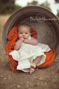 Baby in a barrel :):):):):)