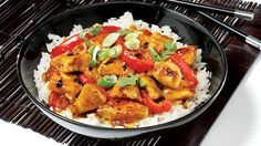 This easy General Tao chicken recipe will surely become everyone's favorite! Poulet General Tao, Oriental Food, Oriental Recipes, Asian Recipes, Ethnic Recipes, Chinese Recipes, Confort Food, Mets, Fajitas