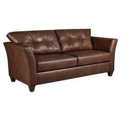 Martha Stewart Collection Bradyn Leather Sofa Best