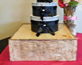 Rustic Weddings Birch Cake Stand by marys4everflowers on Etsy, $140.00 USD #rusticweddings #cakestand #rustic