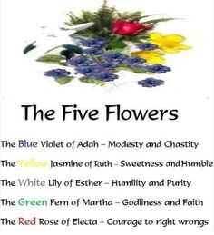 The Five Flowers