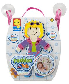 Tub Fashion and thousands more of the very best toys at Fat Brain Toys. Play dress up in the bath.