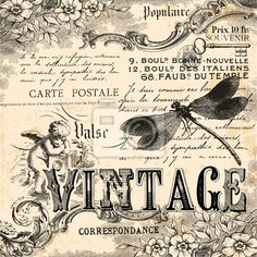 collage art | Wall Decal vintage collage - engraved - art • PIXERSIZE.com pinned with #Bazaart - www.bazaart.me