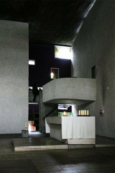 Notre Dame du Haut, by Le Corbusier / Ronchamp, France