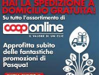 Coop Online offre la spedizione gratuita a domicilio su tutto l'assortimento di prodotti online. Cosa aspetti? la promozione scade il 21 aprile.