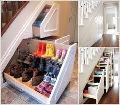 stairs in kitchen storage - Google Search