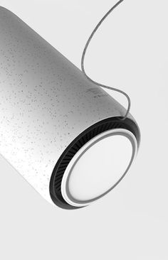 Check this out on leManoosh.com: #Air purifier #Cable Management #Minimalist #Seamless #Speckled #Tube #Vent