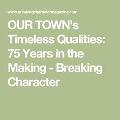 Our Town WebQuest   Thornton Wilder   Pinterest   Online