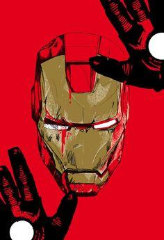 Iron Man by Chris Thornley