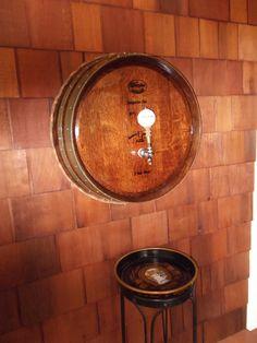 Oak Wine Barrel Beer Tap