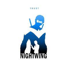 Nightwing DC Comics Batman
