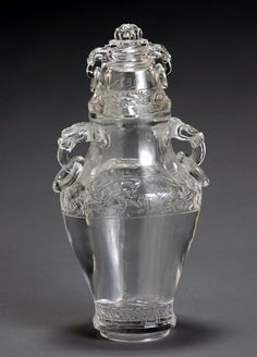 Euro & Amer Furn & Decor - 1274 - Sale 1274 - Lot 41 - Chinese Rock Crystal Archaistic Covered Vase 19th Century - ADAM A. WESCHLER & SON, INC : AUCTIONEERS AND APPRAISERS - SINCE 1890