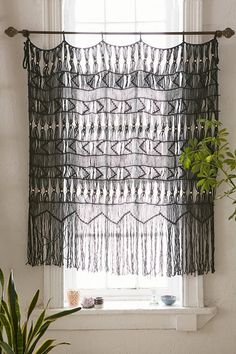 Magical Thinking Kushi Macrame Wall Hanging - Urban Outfitters • also in cream