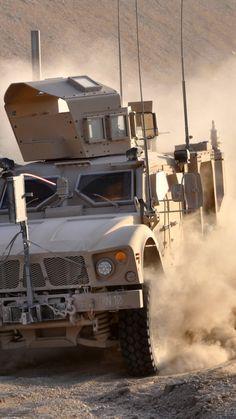 M-ATV, Oshkosh, MRAP, TerraMax, infantry mobility vehicle, field, desert, dust