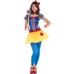 Teen Girls Snow White Costume