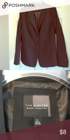 The Limited blazer Black  The Limited Black Collection blazer. Like new The Limited Jackets & Coats Blazers