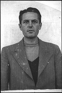Rudolf Heinrich Suttrop (1911-1946), rejoint la SS en 1933. A Dachau de 1942 à 1944. Pendu.