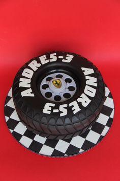 Ferrari tire cake   moxy.mx