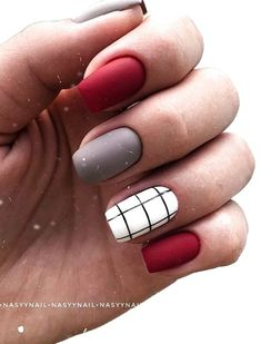 Cute Acrylic Nail Designs, Simple Acrylic Nails, Fall Acrylic Nails, Short Nail Designs, Simple Nails, Nail Designs For Fall, Best Nail Designs, Squoval Acrylic Nails, Fall Gel Nails