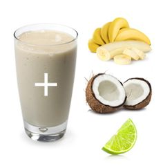 Crazy for Coconuts Shake 2 scoops IsaLean Shake in Creamy French Vanilla 9 oz. ice cold water 1/2 banana 1 tbsp. coconut oil 1/2 juice of a lime Blend in IsaBlender®