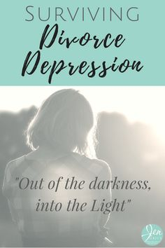 Feeling despair, hopelessness, like being alone and crying all day long? You could have divorce depression. Check out the wisdom from other survivors.