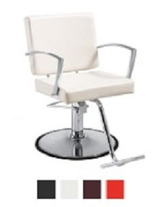 Our hair salon chairs are stylish, relaxing, affordable & of the highest quality. Our salon seating will be the talk of the town. Hair Salon Chairs, Salon Styling Chairs, White Hair Salon, Salon Sink, Barber Chair, Cool Things To Buy, Salons, Relax, Modern