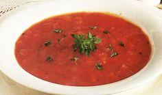 Τοματόσουπα Ethnic Recipes, Food, Essen, Meals, Yemek, Eten