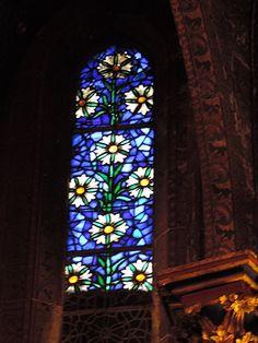 vitraux Eglise saint Georges Mitou La Bretonne: Noël Sélestat (2 )