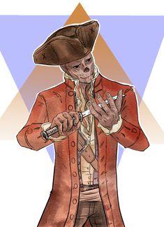 Fallout 4 John Hancock illustration by Roxy Polk Fallout 4 Hancock, Fallout 4 Companions, Ok Game, Fallout Fan Art, Elder Scrolls Games, John Hancock, Fall Out 4, Fallout New Vegas, Video Game Art