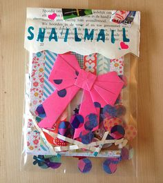 Snailmail Magazine (English blog)