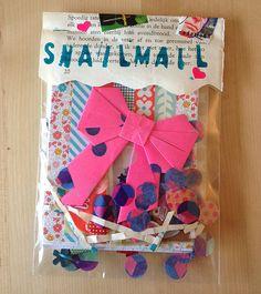 Snailmail Magazine (English blog)