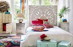 Muebles con aires marroquíes o hindúes, todo lo artesano cabe en el 'boho chic' ... - Proporcionado por Glamouratis