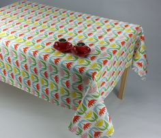 Tulip tablecloth