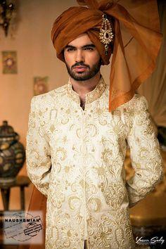 Groom Wedding Sherwani Latest Collection 2016-2017