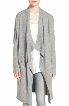 Free shipping and returns on Free People Lovely Lines Bell Sleeve Sweater at Nordstrom.com. Rib-knit raglan sleeves flare out into dramatic, '70s-chic bell shapes in a slouchy sweater detailed with a plunging V-neckline for a free-spirited finish.