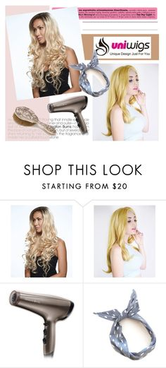 """""""UniWigs"""" by mirelagrapkic ❤ liked on Polyvore featuring Remington, women's clothing, women's fashion, women, female, woman, misses and juniors"""