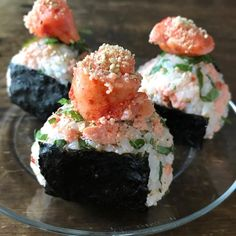 My Dreambox in 2020 Asian Recipes, New Recipes, Cooking Recipes, Onigiri Recipe, Onigirazu, Food Concept, Health Shop, Aesthetic Food, Food Design