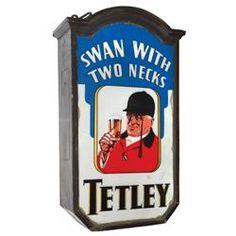 Tetley Pub Sign