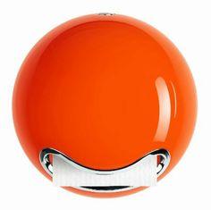 Spirella WC-Papier Rollenhalter, Bowl, orange glänzend
