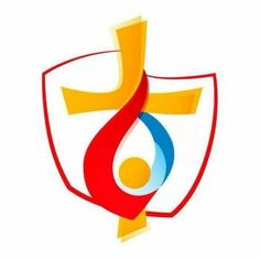The Official logo of World Youth Day 2016 Kraków, Poland World Youth Day, Church Fundraisers, Catholic Diocese, Salt And Light, Krakow Poland, Divine Mercy, Jesus Is Lord, Jesus Christ, Youth Ministry