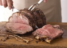 """Pro Tips for Reheating Prime Rib I """"The juicy prime rib roast that was a huge hit for dinner last night can make a return appearance as a superstar leftover. Here are a few suggestions on the best ways to reheat prime rib."""""""