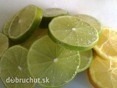 Fotorecept: Domáci limetkový sirup Nordic Interior, Food To Make, Lime, Homemade, Fruit, Drinks, Cooking, Syrup, Drinking