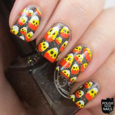 Polish Those Nails: 40 Great Nail Art Ideas - Halloween