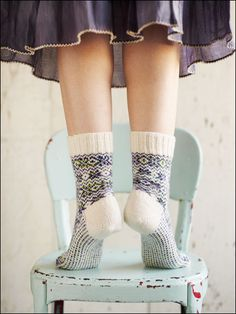 Your Cappy kid will like more traditional patterns and fabrics, and warm wool socks. (by photographer Alexandra Grablewski)