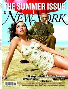 New-York, the summer issue, Juillet 2006 - Scarlett Johansson & Woody Allen.
