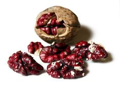 Red Walnuts - Great photo!