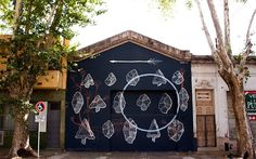 New Street Art Mural By Argentinean Painter Pastel in Villa Crespo, Buenos Aires. 1