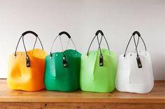 Recycling design award: new life for old things Plastic Bottle Caps, Reuse Plastic Bottles, Plastic Bottle Flowers, Recycled Plastic Bags, Bottle Cap Crafts, Recycled Bottles, Recycled Crafts, Plastic Milk, Milk Bottles