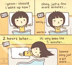 College Life as a college student home for winter break - Funny meme college life. Wake Up Now, 4 Panel Life, Chibird, Funny Memes, Hilarious, Funny Sayings, Pause, Cheer Up, Make Me Smile