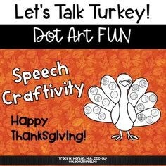 Let's Talk Turkey Craftivity